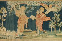 Saint Jean mange le livre