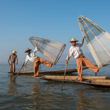Pêcheurs Intha