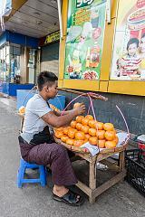 Vendeur d'oranges